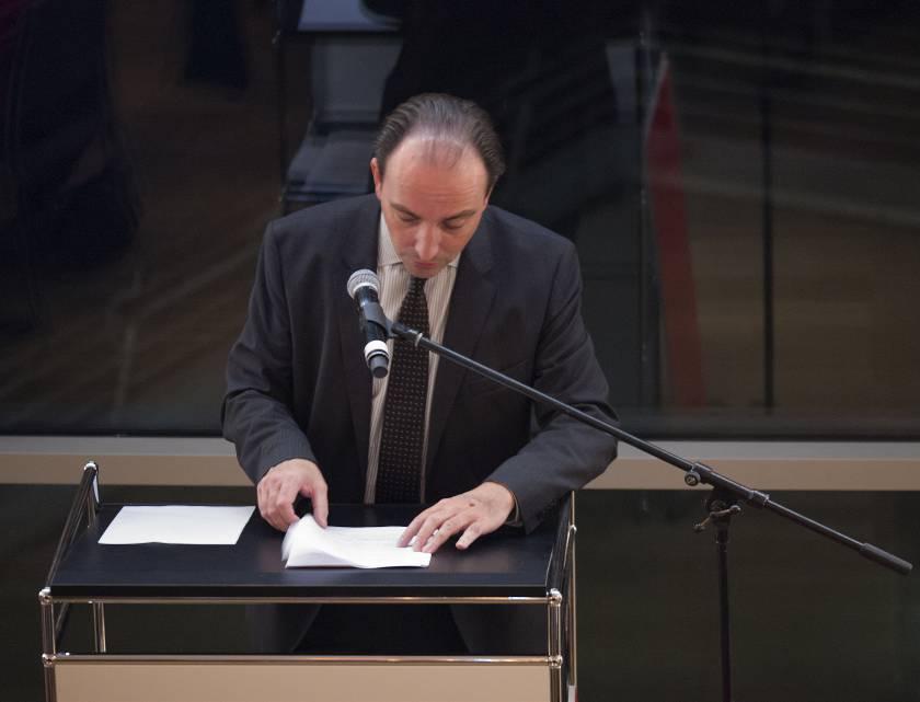 Herr Dr. Marcus Dekiert, Direktor des Wallraf-Richartz Museums&Fondation Corboud